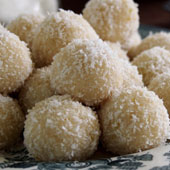 Raw lemon & almond truffles