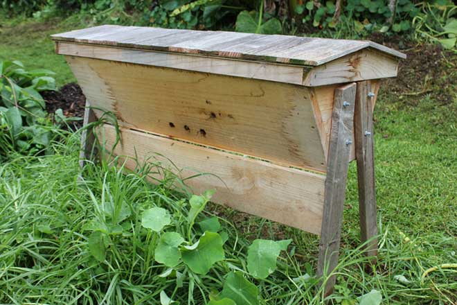 Beehives - POD easy edible gardening
